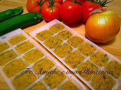 Dadi vegetali homemade Dadi, Ketchup, Homemade, Vegetables, Image, Food, Cream, Canning, Rezepte