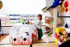 cardboard furniture / kid's room