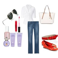 classic staple, created by marjorie1923 on Polyvore