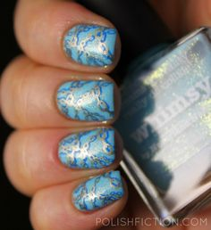 piCture pOlish Whimsy with double stamping
