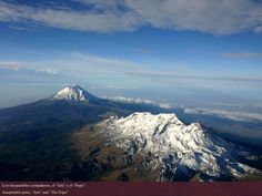 Image result for iztaccíhuatl y popocatépetl