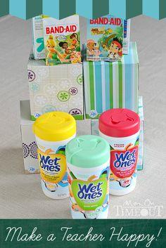 Make a Teacher Happy - Donate Much Needed Supplies!  | MomOnTimeout.com #spon #teacher