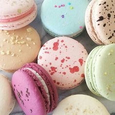 Beautiful macarons