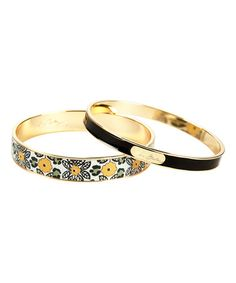 Look at this #zulilyfind! Go Wild Bangle Set #zulilyfinds
