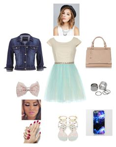 """K M A A O T W O S"" by queen-kaitlyn ❤ liked on Polyvore featuring maurices, Wet Seal, Pieces and Girlactik"