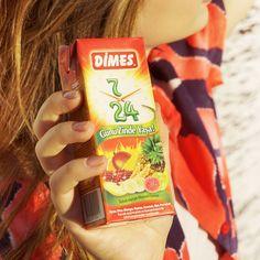 Güne zinde başla, günü zinde yaşa! Gün içinde ihtiyacınız olan her anda DİMES 7&24 tahıllı karışık meyve suyu yanınızda :)