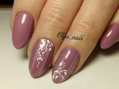 Semi-permanent varnish, false nails, patches: which manicure to choose? - My Nails Mauve Nails, Pink Nails, My Nails, French Manicure Designs, Nail Art Designs, French Pedicure, Stylish Nails, Trendy Nails, Nail Art Arabesque