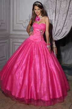 Ball Gown Sweetheart Floor Length Quinceanera Dresses Rhinestone With Sequins