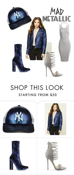 """""""mad metallic"""" by jayajav ❤ liked on Polyvore featuring Forever 21 and Sans Souci"""