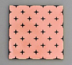 Carter tile from 1960 with geometric design by robmcrorie