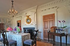 Millwork from an historic 1761 room in New Jersey was replicated by Hull Historical in this new room.
