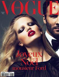 Duelo de portadas para los Beckham en Vogue Paris esta #Navidad