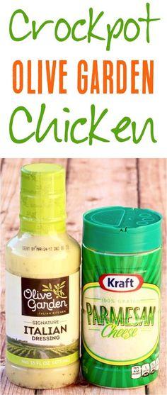 Parmesan Dinner Recipes! This Olive Garden Chicken is such an easy Italian Dinner Recipe!   NeverEndingJourneys.com