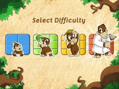 can be played by toddlers, preschool kids, older kids, and thanks to the different levels of difficulty of the game, even grown-ups will enjoy it. Curious Kids, Puzzles For Kids, Forest Animals, Jigsaw Puzzles, Preschool, Animation, Cartoon, Comics, Itunes