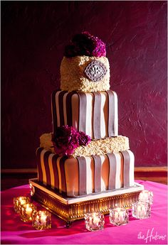 THIS CAKE!!! So much texture and color... LOVE!    Photo by Kori