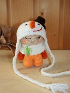 ♥ Handle hook. Knitting. handmade toys.
