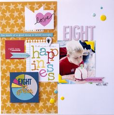 Eight {Bella Blvd} - Scrapbook.com