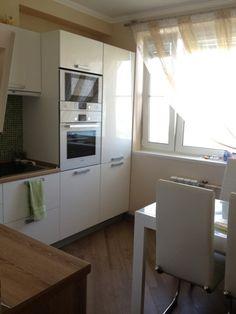 Девушки,  как  быть  с  кухней  в  доме  серии  П44,  кухня  с  коробом.  Как  удачно  расположить  мебель  и  бытовую  технику?  Картинка  с  прос...