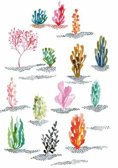 Watercolors from Miss Capricho | decor8