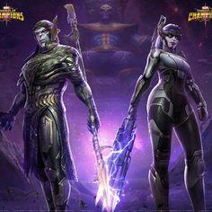 Night Thrasher Marvel Contest Of Champions Thanos Marvel, Marvel Vs, Marvel Heroes, Marvel Comic Character, Marvel Characters, Marvel Movies, Marvel Games, Marvel Female Villains, Black Order Marvel