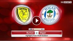 Video Highlights: Burton Albion vs Wigan Athletic - Sky Bet Championship, 14 January 2017. You are watching football / soccer highlights of Sky Bet Ch...