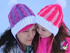 crochet slouch hat cables pattern