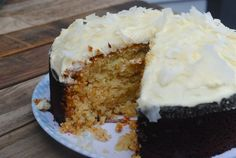 inner pickle : honey coconut cake