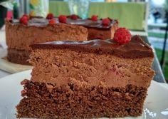 Málnás csoki mousse torta cukormentesen | Kovács Krisztina receptje - Cookpad receptek Mousse, Food And Drink, Desserts, Kitchen, Tailgate Desserts, Deserts, Cooking, Kitchens, Postres