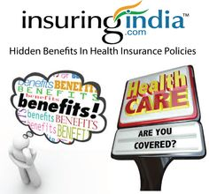 this is not really the full picture; protection arrangements pay the bill for different costs also. A few benefits offered by medical coverage approaches stay unused because of absence of information among policy holders. Keep in mind, the utility of a wellbeing spread depends on its components as well as on how well you can utilize them. We should comprehend in point of interest. For Quotes: https://www.insuringindia.com/general-insurance/health/health-home.aspx