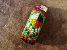 Native American Beaded Lighter Cover/Case by AmandasBeadingHeart, $45.00