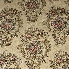 1000 images about victorian fabrics on pinterest for Victorian floral fabric