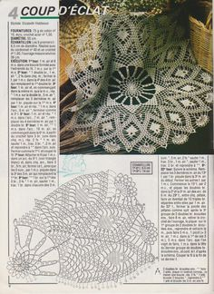 Free Crochet Doily Patterns, Crochet Pillow Pattern, Crochet Art, Crochet Stitches, Lace Doilies, Crochet Doilies, Yarn Over, Projects To Try, Handmade