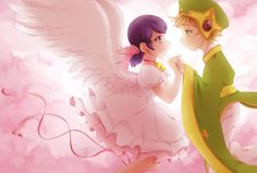 (Cardcaptor Sakura!Miraculous: Tales of Ladybug and Cat Noir) Marinette/Adrien