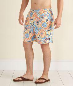50110bcdd2 Men's Swimwear: Mosaic Floral Chappy Swim Trunks