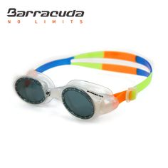 Barracuda Junior Swim Goggle UVIOLET - Anti-fog, UV protection, One-piece Frame Soft Seals, Easy-adjustment Comfortable Quick Fit No leaking for Kids, Children ages 6-12 (#33620)