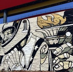 Evel Knievel tribute by David Flores, LA, 5/15 (LP)