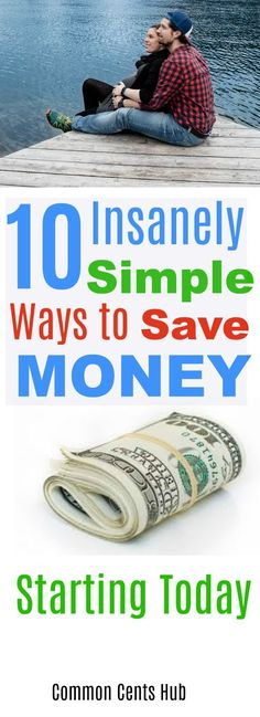 It's great to save money, but when you find easy ways - bonus! These 10 ways to save will leave hundreds more dollars in your pocket. Save money | save dollars | lower costs | budget | save income.