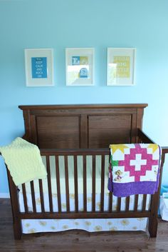 adjustable crib skirt tutorial