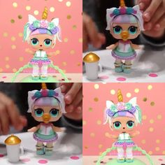 Wow our LOL unicorn doll looks so close to the real one! We cant wait to unbox this cutie. Its a good thing she is not a rare or ultra rare but were guessing everyone will still want her. #lolsurpriseconfettipopwave2 #lolsurprise #lolsurpriseconfettipop #lolconfettipop #lolunicorn photo taken from @twosisterstoystyle YouTube video