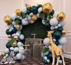 Inspirational methods that we are keen on! Inspirational methods that we are keen Baby Shower Candy Table, Safari Baby Shower Cake, Deco Baby Shower, Boy Baby Shower Themes, Baby Shower Balloons, Baby Boy Shower, Jungle Theme Birthday, Safari Theme, Safari Party