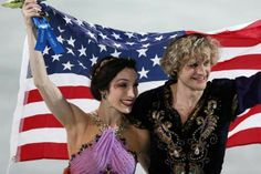 Ice Dancing Gold Medal champions Sochi Olympics Meryl Davis and Charlie White