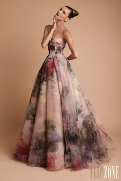 wedding dress (I d'like to think so) by Rani Zakhem f/w 13-14
