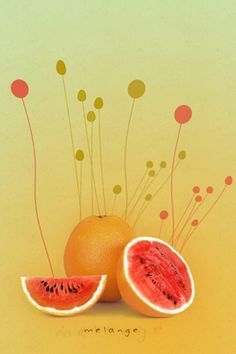 Melange Melons Android Wallpaper HD