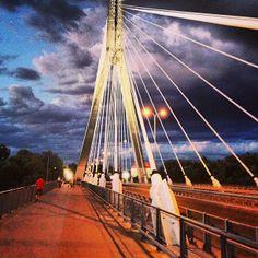Most Świętokrzyski in Warszawa