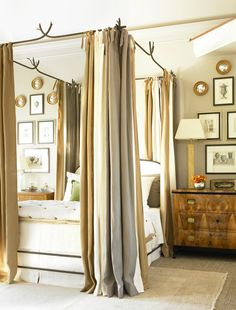 Traditional - Bedroom - Canopy Bed - Drapery - Atlanta, GA - Interior Designer Amy Morris