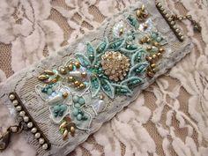 Fabric cuff ♥  by MagicalMysteryTuca