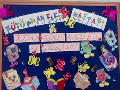 Kütüphane Haftası Phan, Primary School, Special Day, Crafts For Kids, Playing Cards, Education, Handmade, Art, Crafts For Children