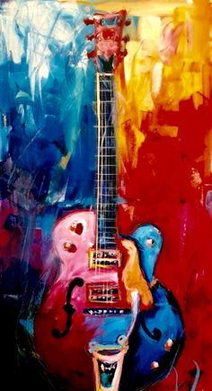 This was painted live at a RAW Artist Show in Nashville, TN on June Music Painting, Guitar Painting, Music Artwork, Guitar Art, Art Music, Music Drawings, Art Drawings, Music Wallpaper, Arte Pop