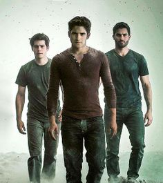 Derek, Scott, and Stiles