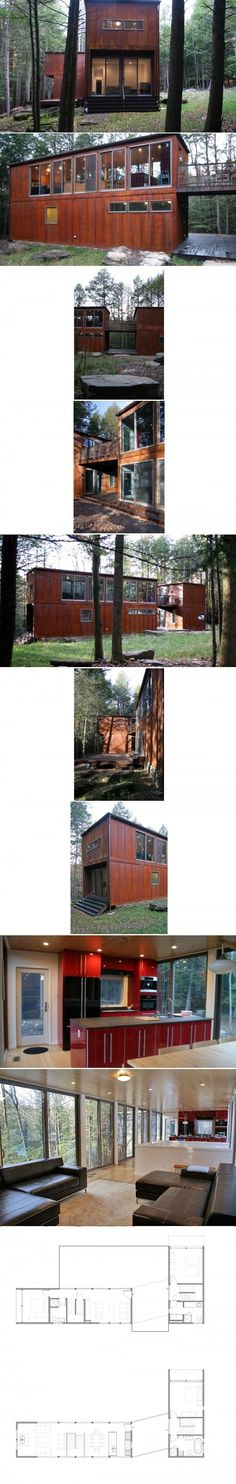 Container House - Alchemy Architects | Johnson Creek weeHouse Who Else Wants Simple Step-By-Step Plans To Design And Build A Container Home From Scratch?